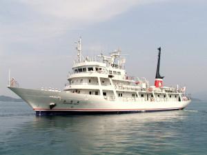 広島丸 左舷