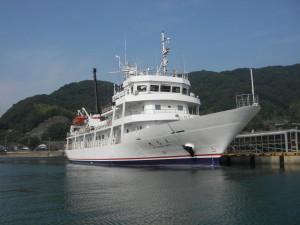 広島丸 桟橋